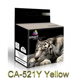 Tusz CA-521Y Żółty SmartPrint