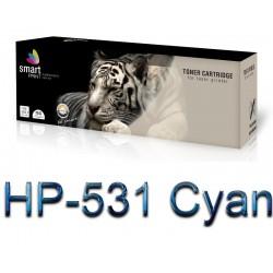 Toner HP-531 Cyjan SmartPrint