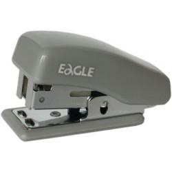 Zszywacz EAGLE mini szary 24/6 - 10 kartek