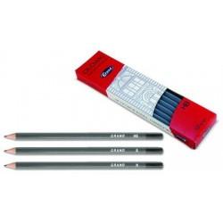 Ołówek drewniany GRAND techniczny 6B