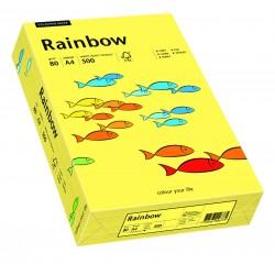 Papier xero kolorowy Rainbow żółty