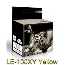 Tusz LE-100XY Żółty SmartPrint