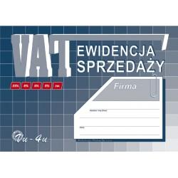 Ewidencja sprzedaży VAT A5 32 strony