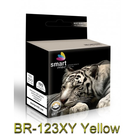 Tusz BR-123XY Żółty SmartPrint