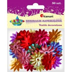 Kształty materiałowe kwiaty dekoracyjne TITANUM