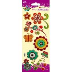 Naklejki dekoracyjne z materiału Kwiaty TITANUM