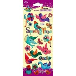 Naklejki dekoracyjne z materiału Ptaki TITANUM